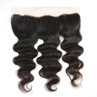 Brazilian human hair Body Wave 13*4 frontal lace closure