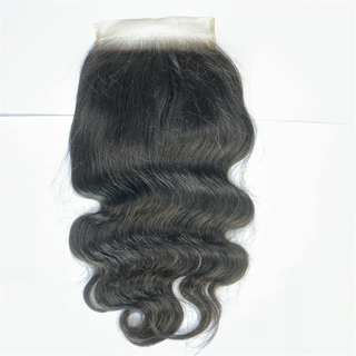 New Popular Body Wave Brazilian Virgin Remy Hair 6*6 Lace Closure