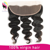 Body Wave Brazilian Hair Cuticle Aligned Hair 13*4 Frontal Hair Lace Closure
